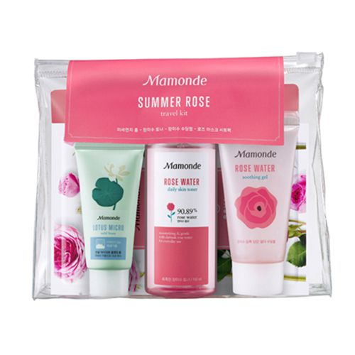 BỘ DƯỠNG DA MAMONDE SUMMER ROSE TRAVEL KIT
