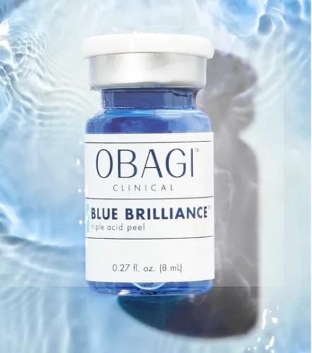 BỘ PEEL CẤU TRÚC NỀN DA OBAGI CLINICAL BLUE BRILLIANCE TRIPLE ACID PEEL