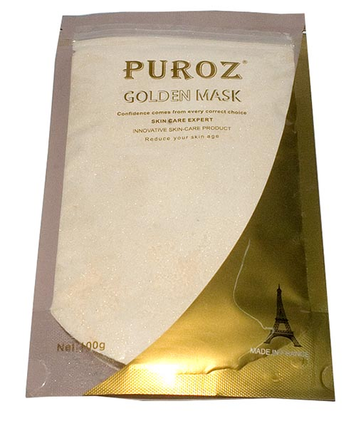 BỘT ĐẮP MẶT NẠ DẼO PUROZ GOLD MASK