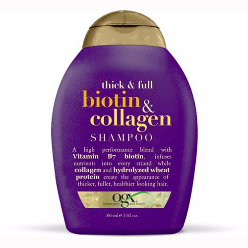 DẦU GỘI OGX THICK AND FULL + BIOTIN AND COLLAGEN SHAMPOO