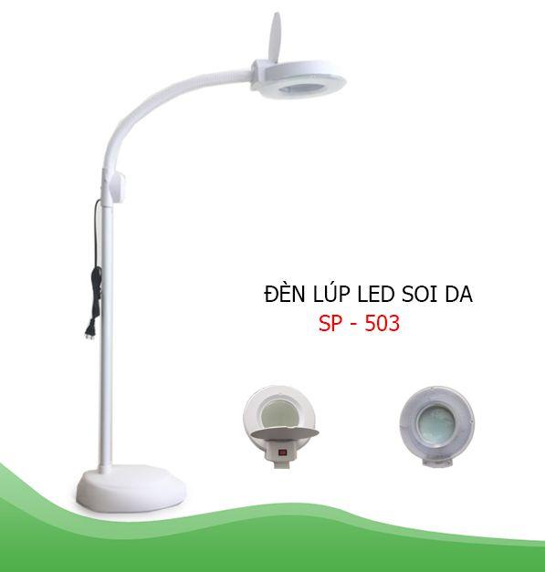 ĐÈN LÚP LED ĐẦU TRÒN CỔ NGỖNG SP-503