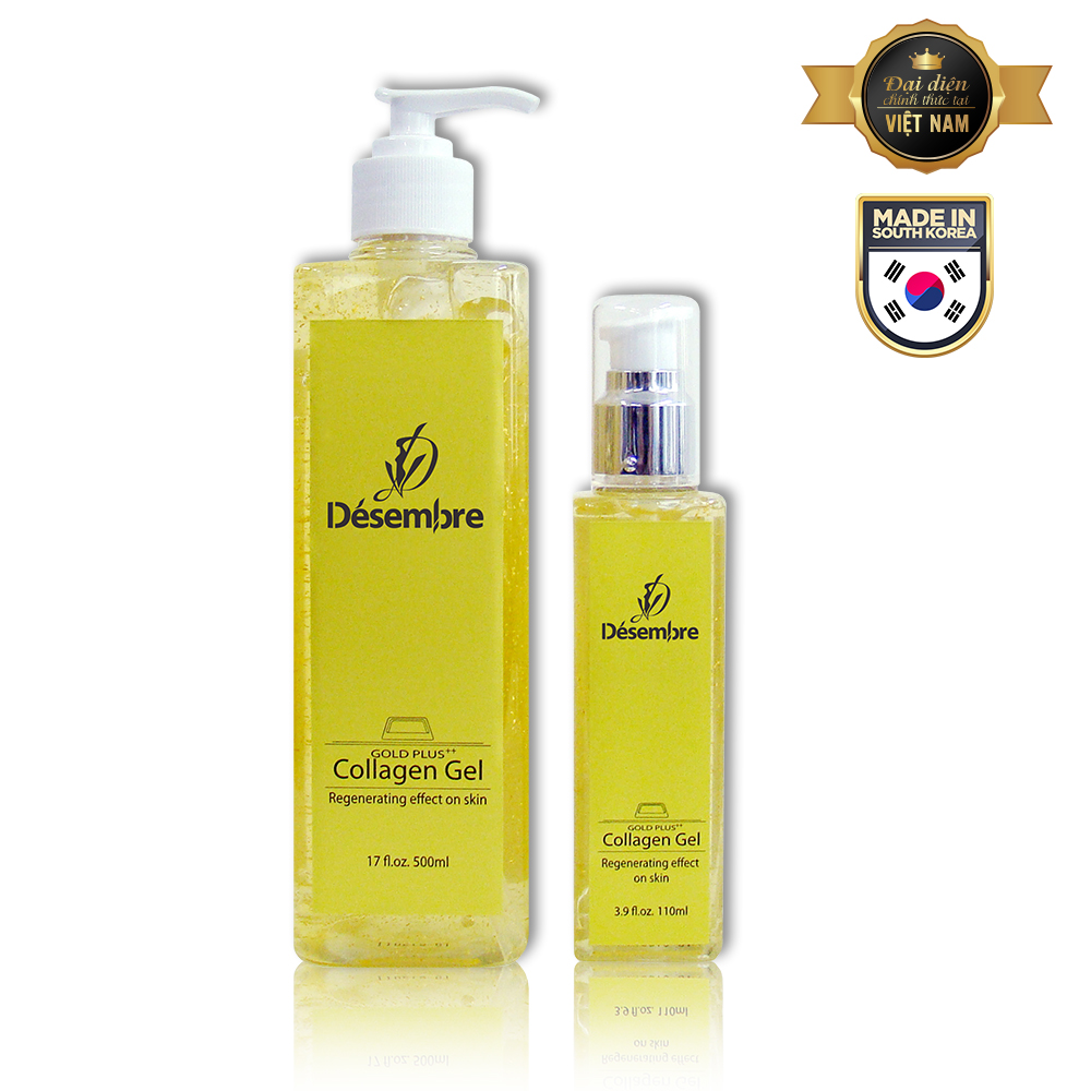 DESEMBRE DERMA SCIENCE 24K GOLD PLUS COLLAGEN GEL GIÚP CĂNG BÓNG DA