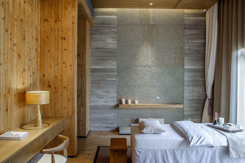 G Spa Pavilion | Sử dụng vật liệu trong thiết kế