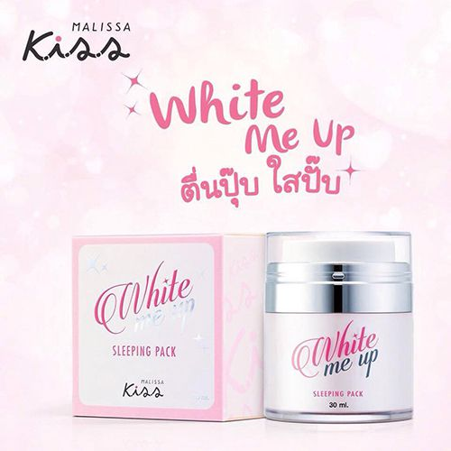 MẶT NẠ NGỦ COLLAGEN KISS WHITE ME UP
